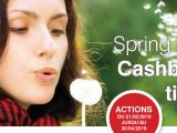 On se sent déjà comme au printemps avec notre action SpringTime